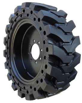 Solid Solver Skid Steer Tires